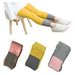 Lasoue 3 Pack Baby Girls Legging Outfit Pant Footless Knit Tight Warm Stocking for 1-7T