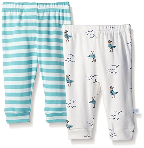 408098531 Pants – Rosie Pope Baby 2-Pack Ahoy Captain Handsome Stripes and Seagulls  Pants, Marshmallow, 3-6 Months Offers